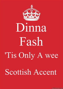 how to develop a scottish accent