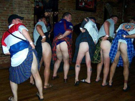 Eenie meenie minie mump, smack a Scotsman on his rump...