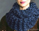 Hand Knit Claire Cowl