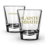 Outlander Shot Glasses