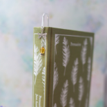 Outlander Silver Dragonfly Bookmark