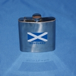 St Andrews Cross Flask