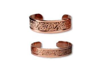 claire's bracelet in copper